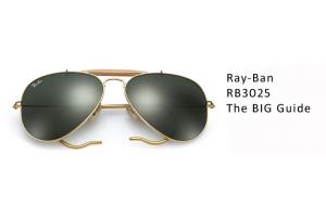 Ray-Ban Aviator Size Guide Blog Banner Image