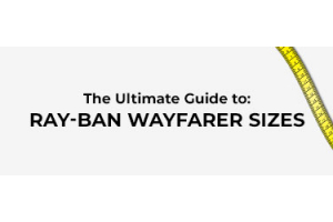 Ray-Ban Wayfarer Sizes Featured Image