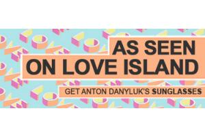 Anton Danyluk Love Island Sunglasses