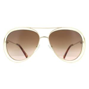 Chloe CE134S Carlina Aviator Sunglasses