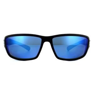Bolle Sunglasses Python 11693 Matt Black Blue Fade Offshore Blue Polarized