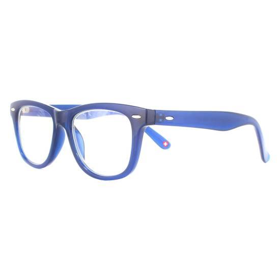 Montana KBLF1 Blue Light Blocking Glasses Black Pink & Blue
