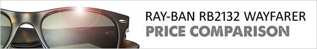 Sunglasses Price Comparison: Ray-Ban RB2132 New Wayfarer