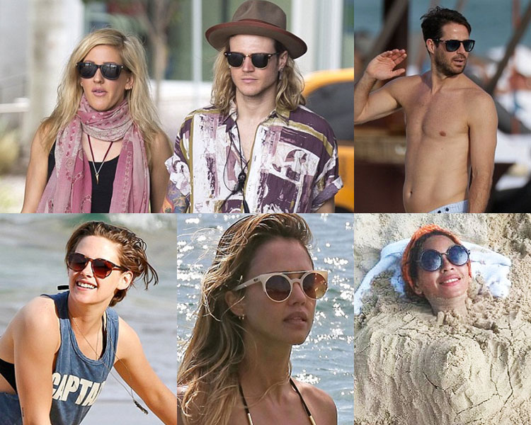 Celebrity Sunglasses this winter