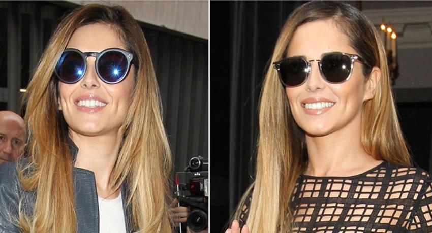 Cheryl Fernandez-Versini loves Ray-Ban Sunglasses