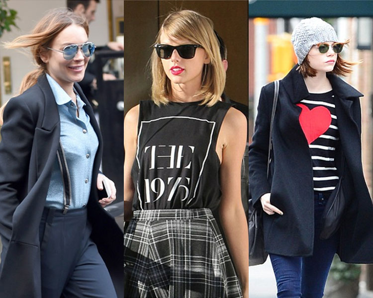 Celebs In Ray-Ban
