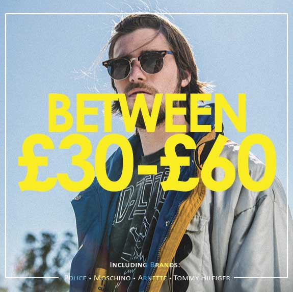 Shop between £30 and £60 Promotional Image