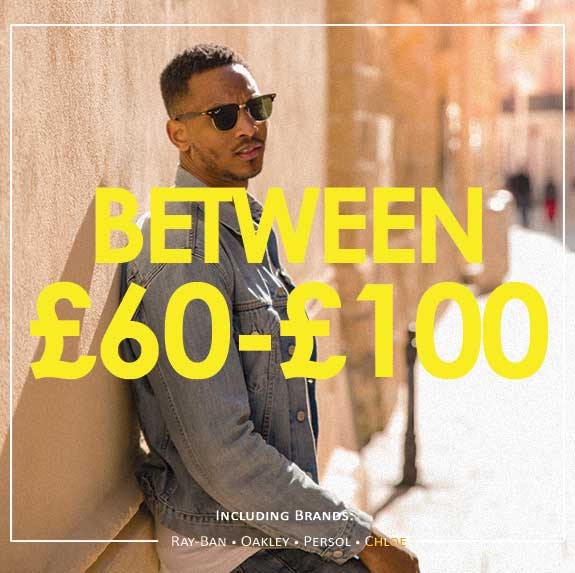 Shop between £60 and £100 Promotional Image