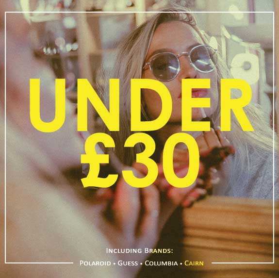 Shop Under £30 Promotional Image